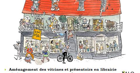 Aménagement des vitrines et présentoirs en librairie