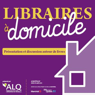 Logo promo Libraires à domicile