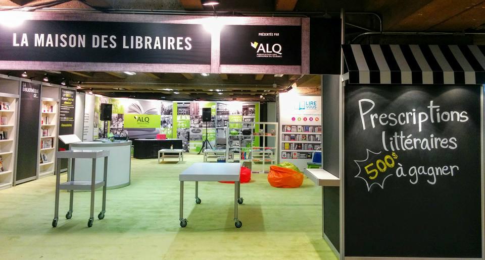 «La Maison des libraires» de retour pour le 39e Salon du livre de Montréal
