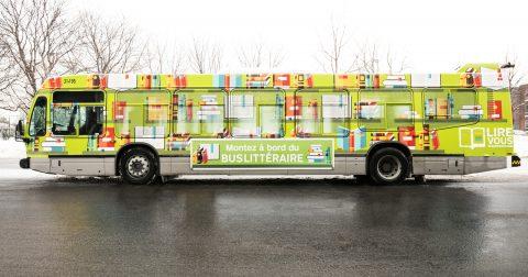 Rencontres uniques entre passionnés de lecture et auteurs – Montez à bord du Bus littéraire !