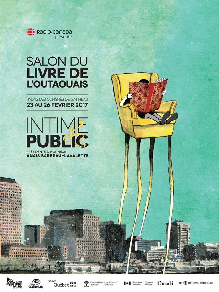 L'ALQ sera présente (et active!) au 38e Salon du livre de l'Outaouais