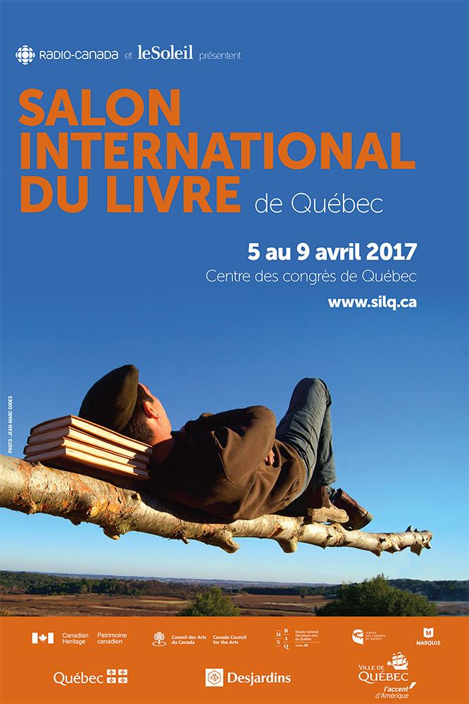 La Maison des libraires au Salon international du livre de Québec / Édition 2017