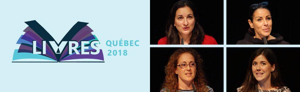 Livres Québec 2018 – Les partis politiques ont présenté leurs positions
