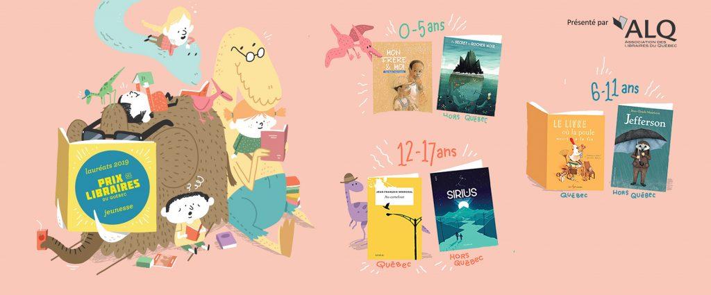 Dévoilement des lauréat.e.s du Prix des libraires du Québec | catégorie jeunesse
